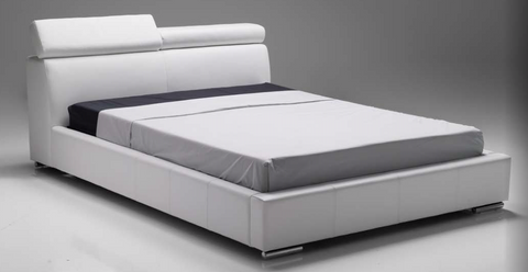 Vertu White King Bed - Mobital