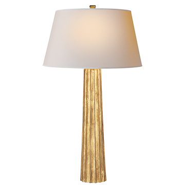 Fluted Spire Large Table Lamp - Visual Comfort & Co.