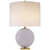 Elsie Table Lamp - Visual Comfort - Lilac/Cream