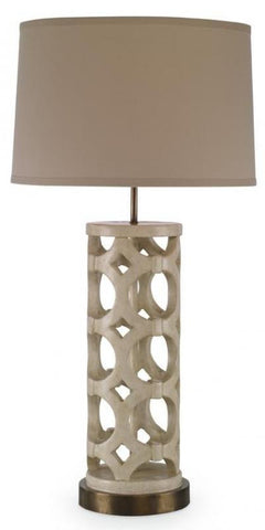 Wolfgang Table Lamp, White - Mr. Brown