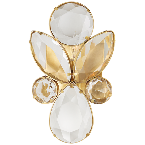 Lloyd Small Jeweled Sconce - Visual Comfort