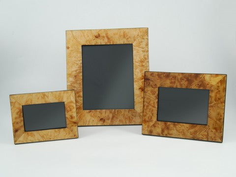 Walnut Burl Picture Frame Large - Pacific Connections