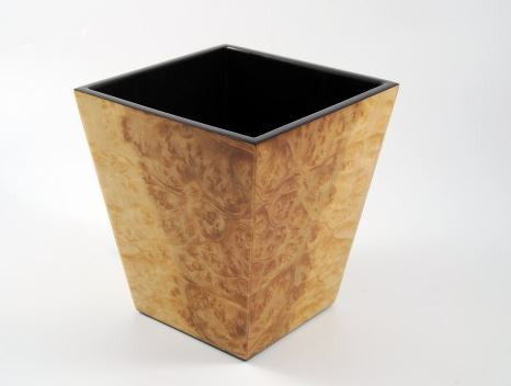 Waste Basket Walnut Burl - Pacific Connections