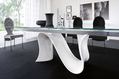 Wave Extendable Table - Tonin Casa