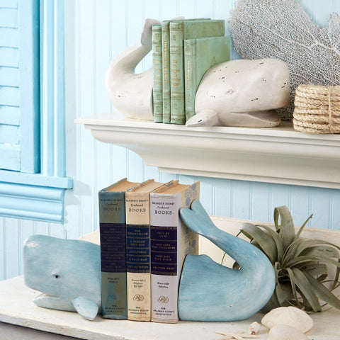 Whale Tale Bookends - Two's Company