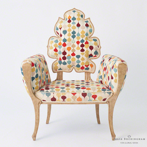Wiggle Chair, Muslin - Global Views