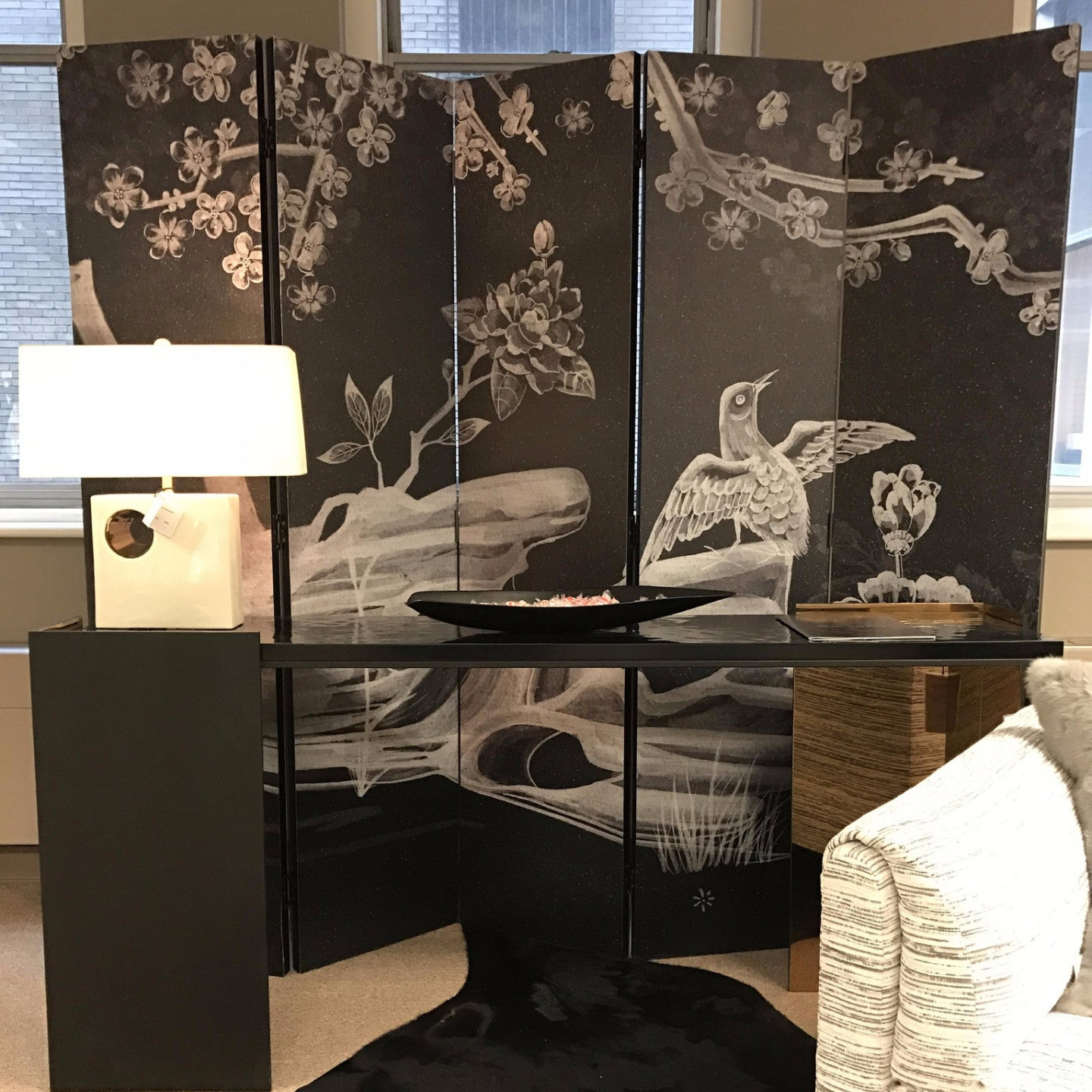 Milling Road Chinoiserie Screen  Baker Furniture