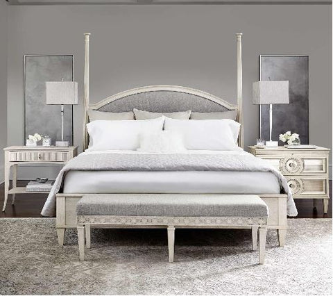 Allure Upholstered Panel Bed - Bernhardt Furniture