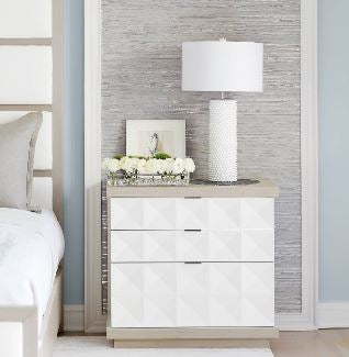 Axiom Nightstand - Bernhardt Furniture