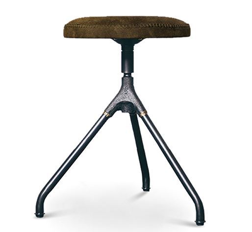 Akron Leather Dining Stool - Nuevo Living