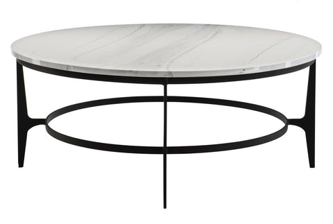 Avondale Round Metal Cocktail Table - Bernhardt Furniture