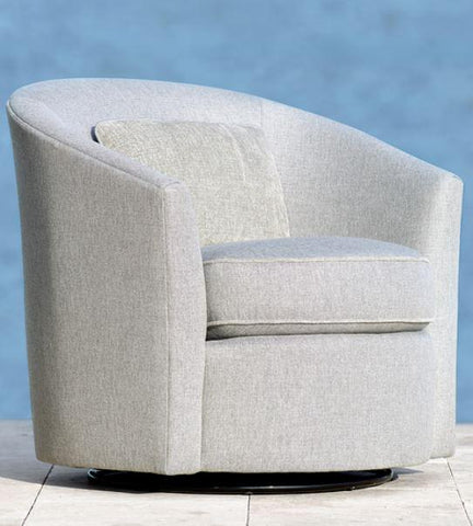 Aventura Swivel Chair - Bernhardt Exteriors