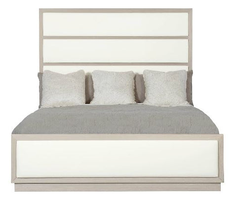 Axiom Upholstered Panel Bed - Bernhardt Furniture