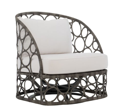 Bali Wicker Swivel Chair - Bernhardt Exteriors