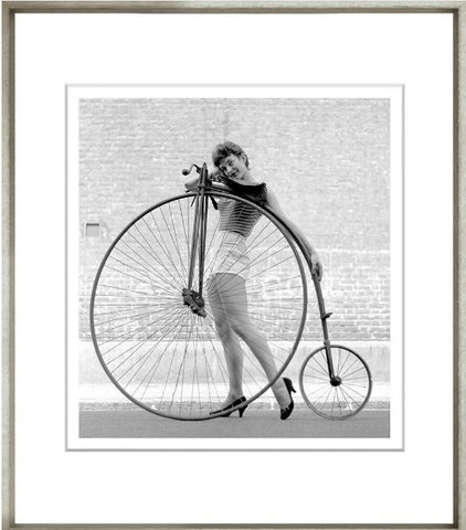 Beauty And The Bike - Trowbridge Gallery