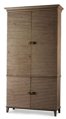 Belmont Tall Cabinet Grey - Mr. Brown London