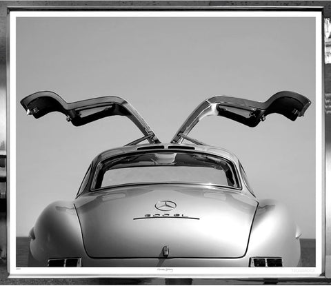 Mercedes 300SL Gull Wing Photo Print - Trowbridge Gallery