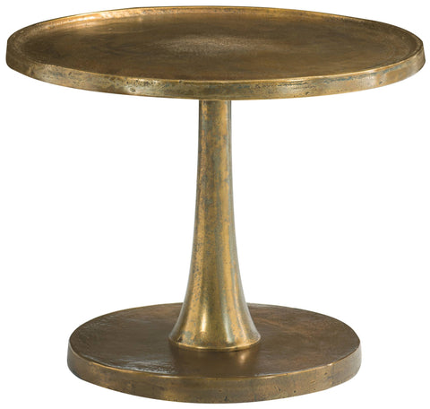Benson Round Chairside Table - Bernhardt Furniture