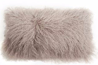 Tibetan Lamb Pillow Birch 11