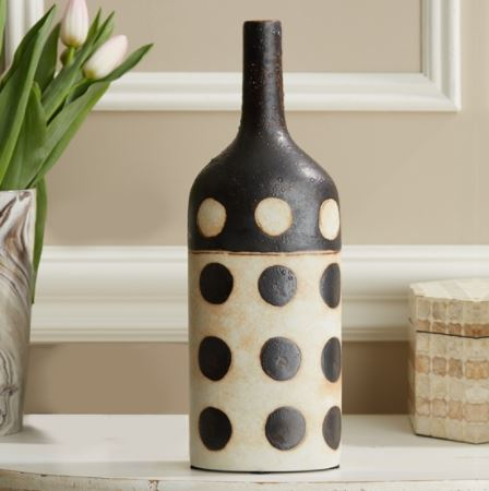 "Artisans 14"" Hand Painted Bottle - Tozai"