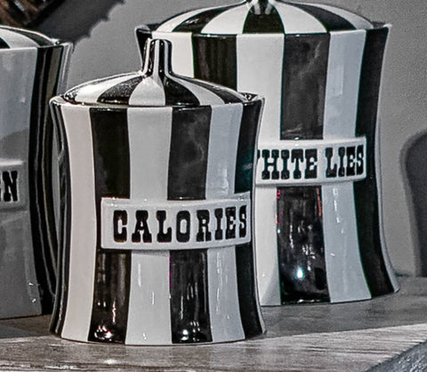 Calories Canister - Jonathan Adler