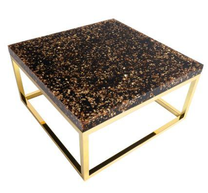 Captured Gold Flake Coffee Table - Phillips Collection