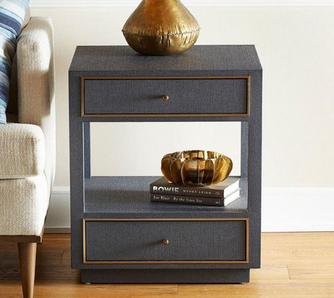 Carmen 2-Drawer Side Table - Bungalow 5