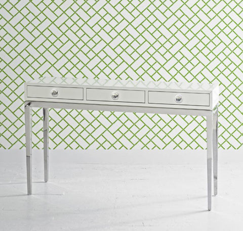 Channing Three-Drawer Console - Jonathan Adler
