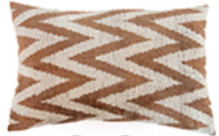 Chevron Taupe - Found Object