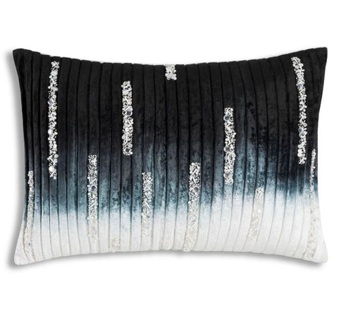 Lapis Blue Velvet Pillow - Cloud 9