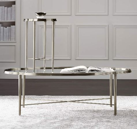 Allure Metal Oval Cocktail Table - Bernhardt