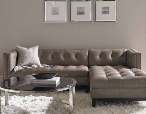 Cole Leather Sectional - Precedent Furniture