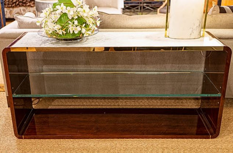 Bentwood Console - Bolier & Company