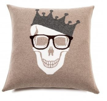 Skull Crown Pillow - Rani Arabella