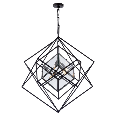 Cubist Medium Chandelier - Visual Comfort & Co.