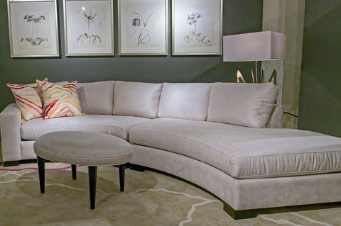 Kylie Curved Sectional - Precedent