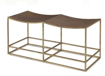 Hutton Double Bench - Mr. Brown London
