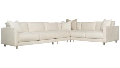 Dakota Sectional Sofa (4-Piece) - Bernhardt Interiors