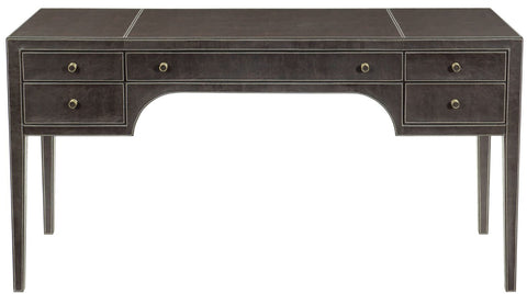 Clarendon Leather Wrapped Desk - Bernhardt Furniture
