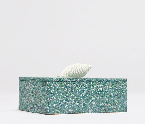 Anna Faux Shagreen Box - Made Goods