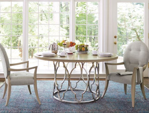 Savoy Place Round Dining Table - Bernhardt Furniture
