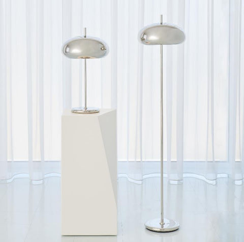 Dome Task Lamp, Nickel - Global Views