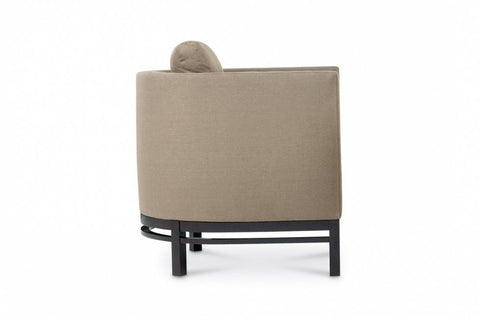 Domicile Curved Back Lounge Chair - Bolier & Co.