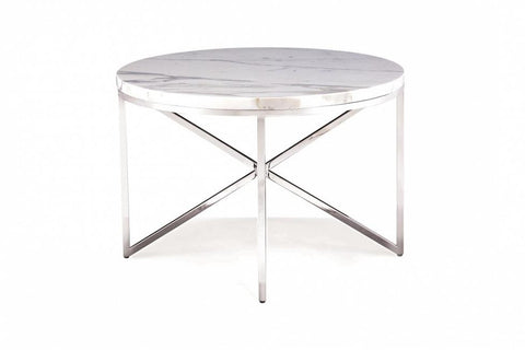 Domicile Side Table With Marble Top - Bolier & Co.