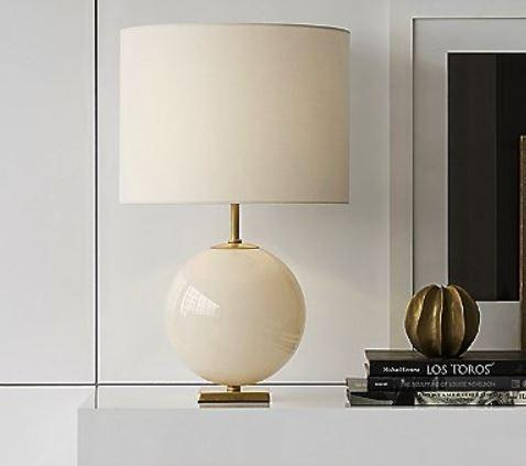 Elsie Table Lamp - Visual Comfort - Cream/Cream