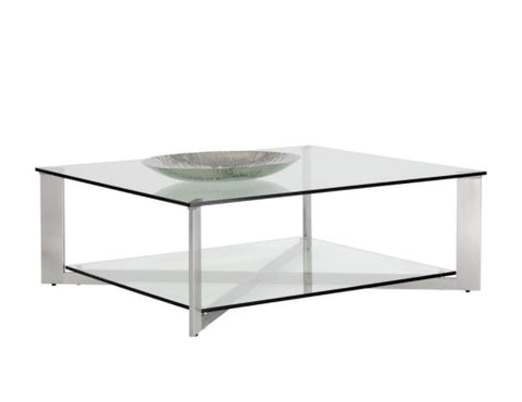Xavier Square Coffee Table - Sunpan