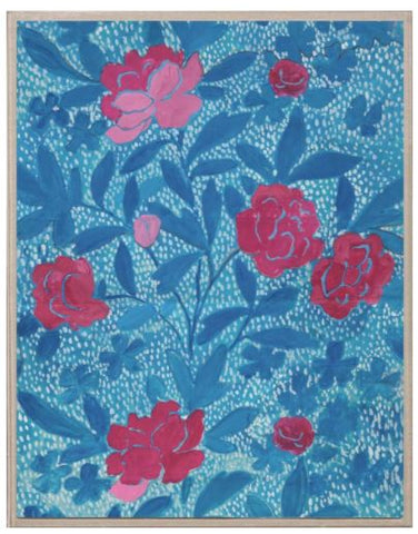 Paule Marrot, Floral Blue - Natural Curiosities