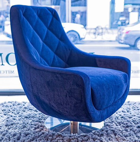 Baci Swivel Chair - Lazar