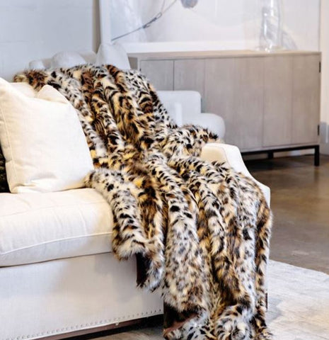 Ocelot Limited Edition Throw - Fabulous Furs