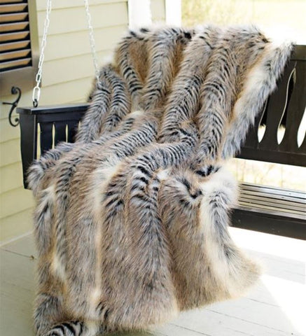 Cross Fox Limited Edition Throw - Fabulous Furs